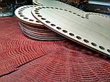 Донышки для вязанных корзинок сердце, фото 2