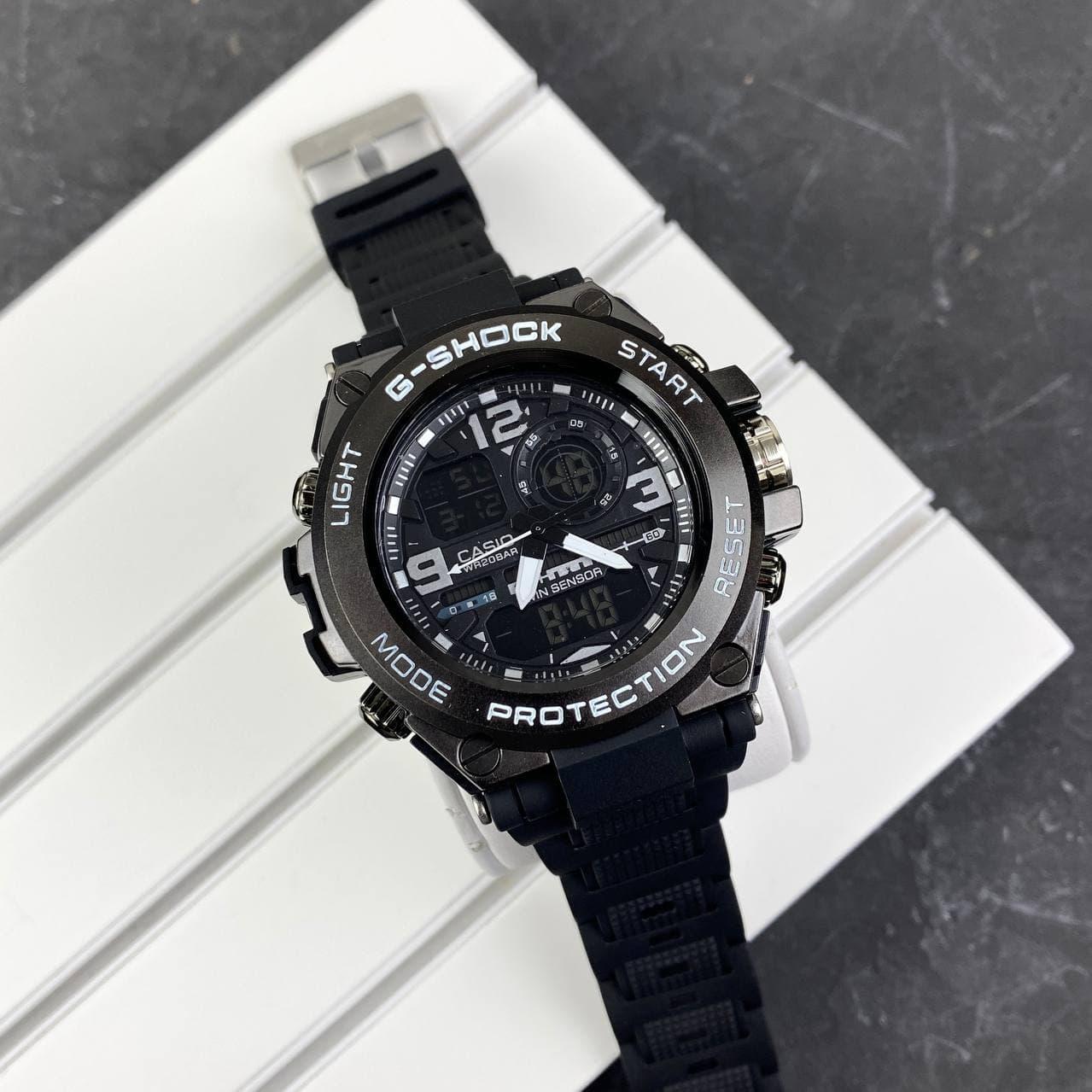 Мужские наручные часы Casio G-Shock GLG-1000 Black-White