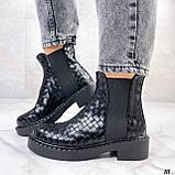 Стильные демисезонные ботинки женские, фото 2