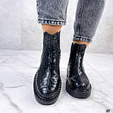 Стильные демисезонные ботинки женские, фото 3