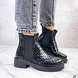 Стильные демисезонные ботинки женские, фото 4