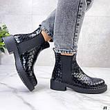 Стильные демисезонные ботинки женские, фото 5