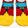 Шкарпетки високі з принтом Містер Крабс розмір 37-43, фото 3