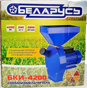 Зернодробарка БІЛОРУСЬ БКІ-3250 ДКУ, крупорушка, млин