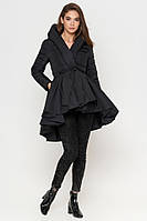 Молодежная осенне-весенняя куртка женская черная Braggart Youth