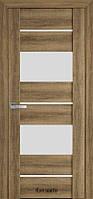 Двері міжкімнатні Віва Аскона Новий Стиль ПВХ зі склом сатин 60, 70, 80, 90