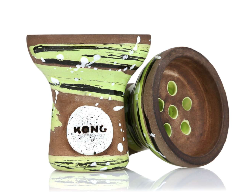 Чаша для кальяну Kong Turkish Boy Light Green