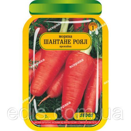 Морковь Шантане роял 2 г, семена Яскрава, фото 2