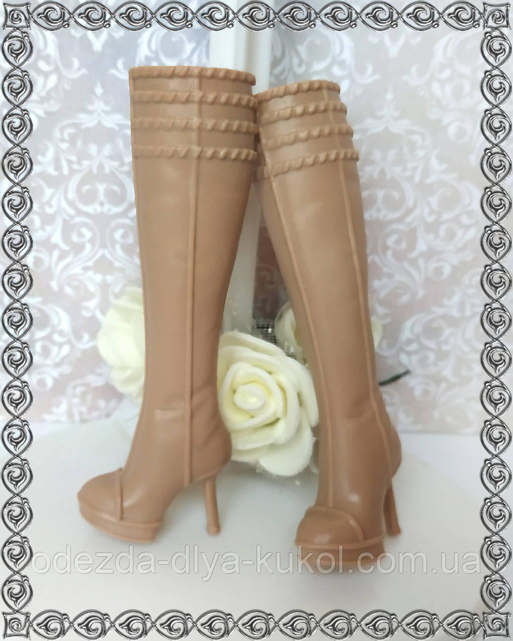 Сапоги для кукол Барби для ножки до 2 см! (см описание!)