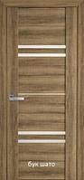 Двері міжкімнатні Віва Меріда Новий Стиль ПВХ зі склом сатин 60, 70, 80, 90