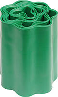 Бордюрная лента для газона зеленая FLO 200 мм 9 м 88702