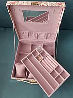 Шкатулка для украшений Фламинго