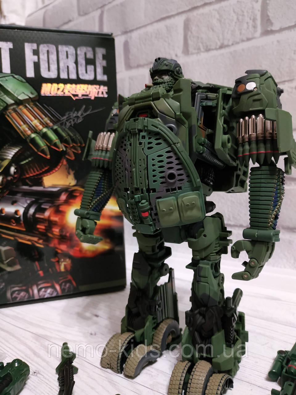 Трансформер Armor Inspector Военный, трансформер метал-пластик