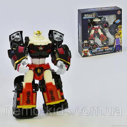Трансформер 4 в 1 Тобот Полицейский, трансформер-робот.