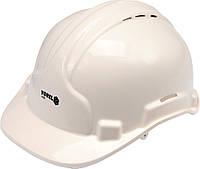 Каска для захисту голови VOREL біла