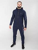 Мужской спортивный костюм Riccardo КМ-Bi-2 Темно синий (RI-10)