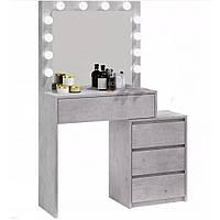 Туалетный столик Bonro- B073 серый