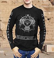Крутая футболка-лонгслив мужская с принтом MORELLO