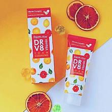 Витаминная пенка для очищения кожи farm stay DR-V8 VITAMIN foam cleansing