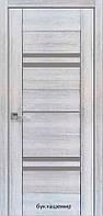 Двері міжкімнатні Віва Меріда Новий Стиль ПВХ зі склом графіт 60, 70, 80, 90