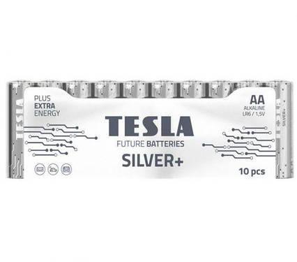 [AA SILVER+10M] Первинні елементи та первинні батареї, циліндричної форми, лужні TESLA BATTERIES AA SILVER+ 10