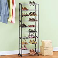 Полка-подставка для обуви Amazing Shoe Rack органайзер стойка на 30 пар