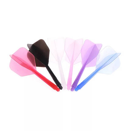 Дартс оперение для дротиков из мягкого пластика 6 штук, фото 2
