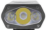 Супер мощный Велосипедный фонарь ROCKBROS BR1800+Power Bank (1800LM, 5200mAh, USB, IPX6, Дальний/Ближний свет), фото 7