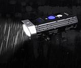 Супер мощный Велосипедный фонарь ROCKBROS BR1800+Power Bank (1800LM, 5200mAh, USB, IPX6, Дальний/Ближний свет), фото 4