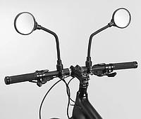 Зеркало для велосипеда rockbrоs на 360 градусов на гибкой ножке, фото 1