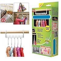 Набор вешалок для одежды Wonder Hanger 8 шт, Набір вішалок для одягу Wonder Hanger 8 шт