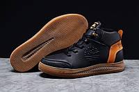 Зимние мужские кроссовки 31383, Timbershoes Sensorflex (на меху), черные, [ 40 45 ] р. 40-26,4см. 45 (T7-D)