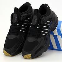 Мужские кроссовки в стиле Adidas Consortium Naked Magmur Runner, черный, Вьетнам 44 (КД-4)