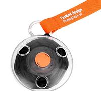 Складаная компактна сумка-шоппер ЧЕРНАЯ Sshopping bag to roll up (200)