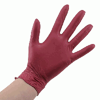 Перчатки нитриловые без пудры Ampri Style цветные 100 шт. в упаковке M