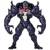 Игровая Коллекционная шарнирная Фигурка Злодей Веном: Спайдермен Марвел, высота 15 см - Venom Spiderman Marvel, фото 1