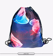 Распродажа! Городской рюкзак мешок с анималистическим принтом Медузы