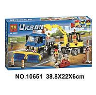 Конструктор Bela 10651 Urban Дорожные Работы 323 Детали