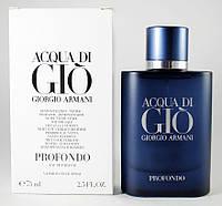 Giorgio Armani Acqua di Gio Profondo (Джорджио Армани Аква Ди Джио Профондо) TESTER, 100 мл