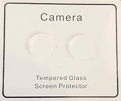 Стекло 2.5D на камеру iPhone 12 mini защитное