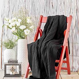 Плед вязанный Karaca Home - Sofa siyah черный 130*170