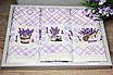 Набір турецьких кухонних рушників Лаванда Вафелька, фото 3