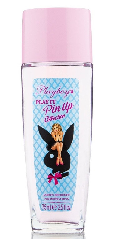 Спрей для тіла парфумований жіночий Playboy Play it Pin Up 75мл.