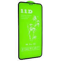 Cтекло 11D для iPhone 11 - black, premium