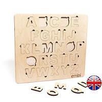 Азбука-сортер Embi для дітей Standard 25х22,5х1см Англійський Алфавіт