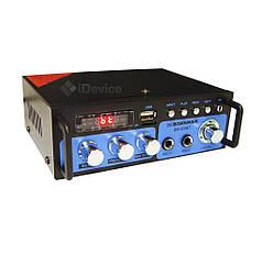 Усилитель звука Boschmam BM-600BT USB, Bluetooth, FM