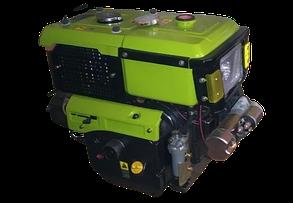 Двигатель 15 л.с с водяным охлаждением  дизельный  ДД15ВЭ с электрозапуском
