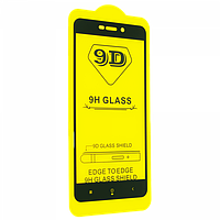 Захисне скло 9D Glass Full Glue Triplex Xiaomi Redmi 4A чорне