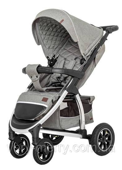 Прогулочная коляска Carrello Vista CRL-5511 Olive Green в льне + дождевик