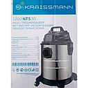 Промисловий пилосос Kraissmann 1200 NTS 30, фото 3
